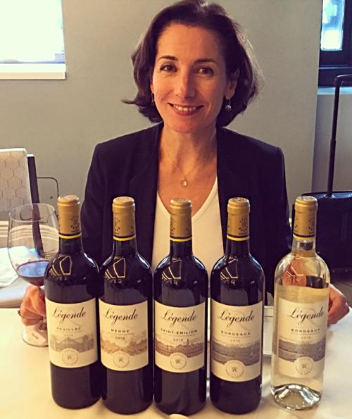 Légende Winemaker Diane Flamand