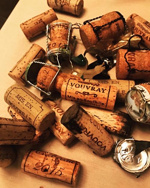 Vouvray corks