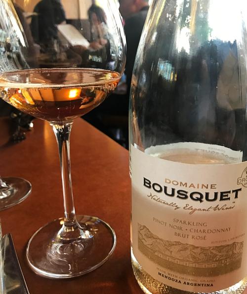 Domaine Bousquet sparkling rosé