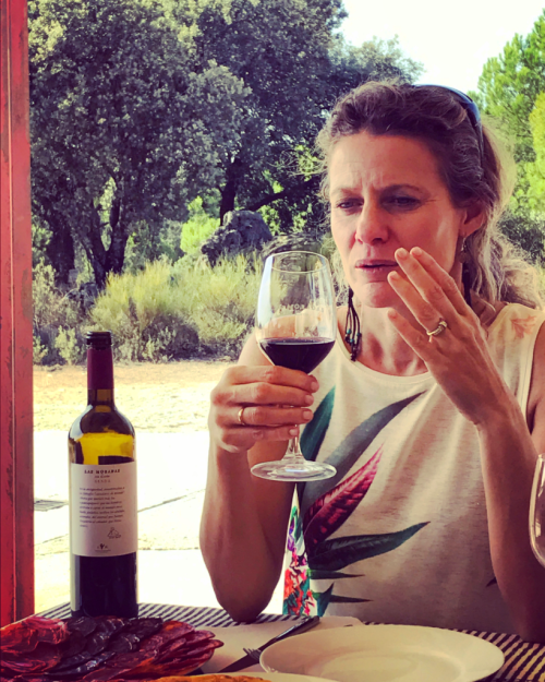 Winemaker Isabel Galindo Spain