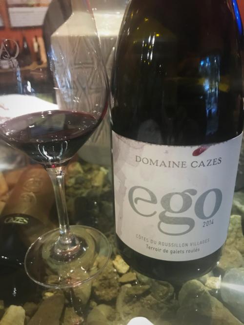 Cazes Ego wine