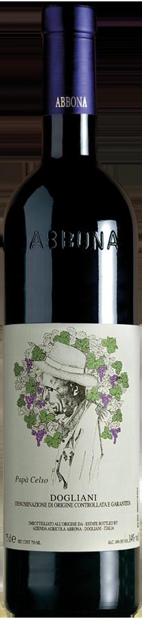 Abbona papa-celso-bottiglia