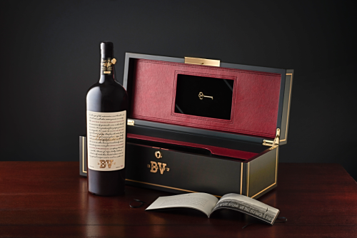 Beaulieu Vineyard 2013-Rarity-Gift-Box-and-brochure