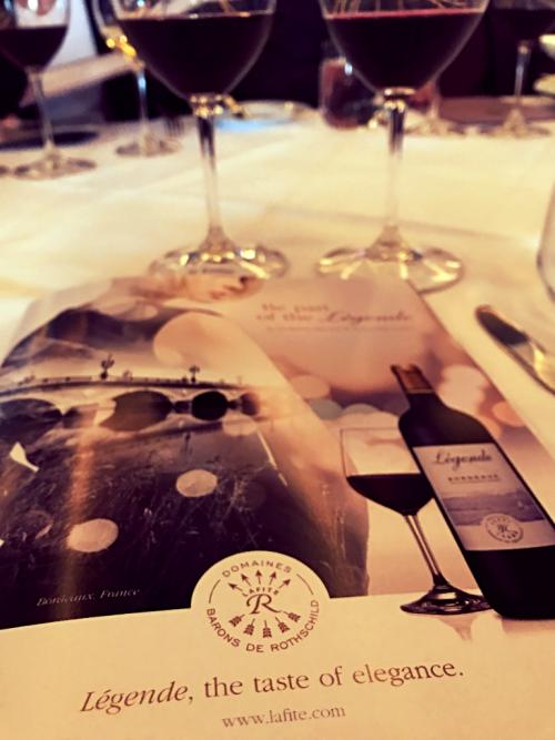 Légende Bordeaux wines