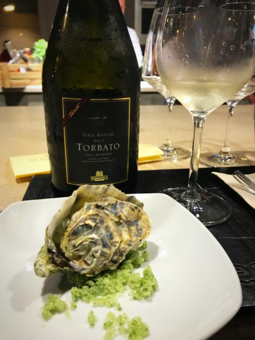 Sella Mosca Torbato & oyster