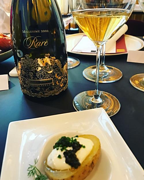 Rare Champagne Wolfgang Puck