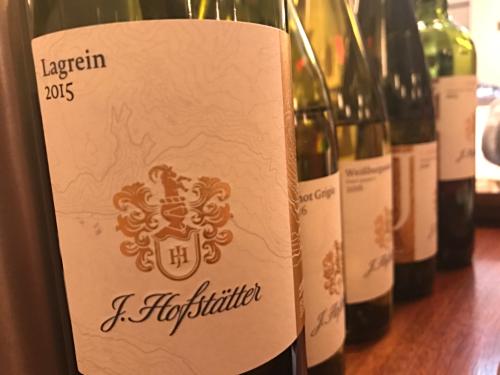 Hofstatter Alto Adige wine