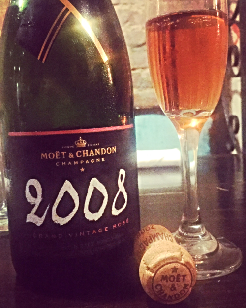 Moet 2008 bottle