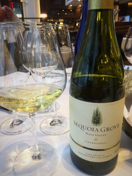Sequoia Grove Chardonnay wine