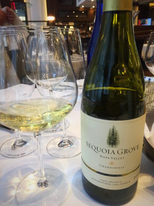 Sequoia Grove Chardonnay wine