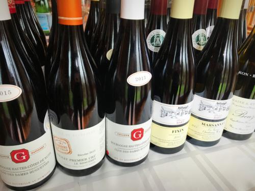 Bourgogne bottles