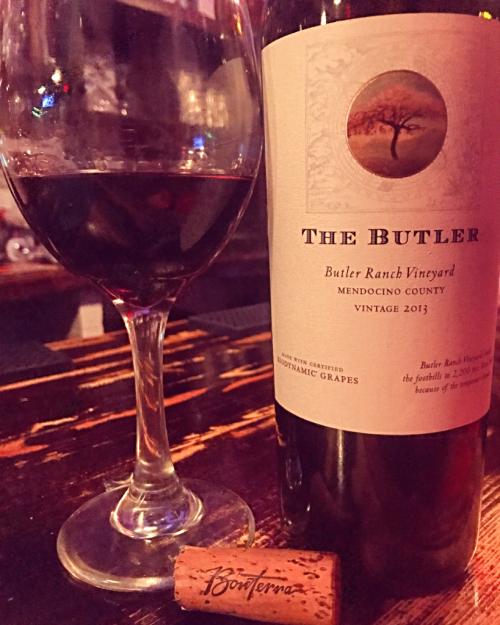 The  Butler Biodnyamic Wine