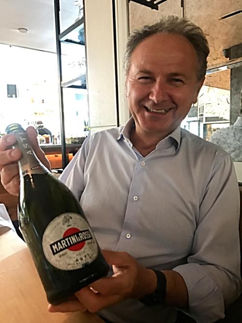 Giorgio Castagnotti Martini Rossi winemaker