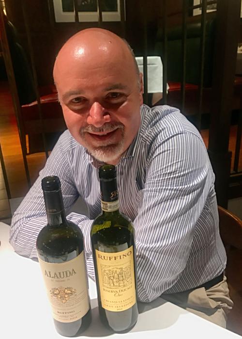 Ruffino Chianti winemaker Gabriele Tacconi