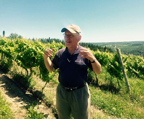 Mel Goldman Keuka Lake Wine