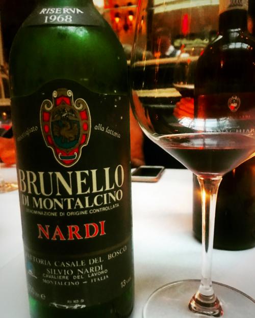Nardi Brunello Montalcino 1968