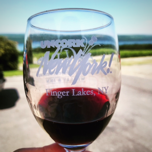 Finger Lakes Wine Glass