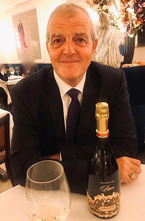 Regis Camus Piper Heidsieck Champagne